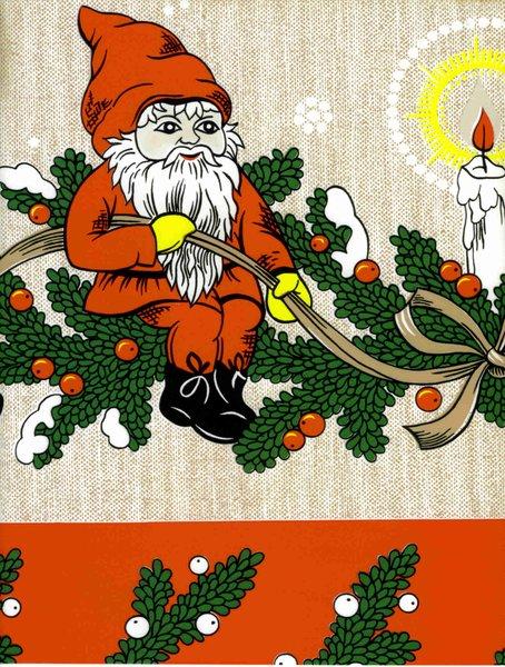 wachstuch tischdecke 5031 weihnachten advent weihnachtsmann eckig kevkus onlineshop f r. Black Bedroom Furniture Sets. Home Design Ideas