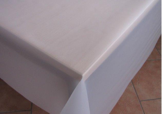 tischdecke transparent unbedruckt meterware tischfolie tischschutz. Black Bedroom Furniture Sets. Home Design Ideas