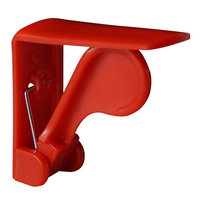 tischklammer tischtuchklammer rot kunststoff tischdeckenhalter kevkus onlineshop f r. Black Bedroom Furniture Sets. Home Design Ideas