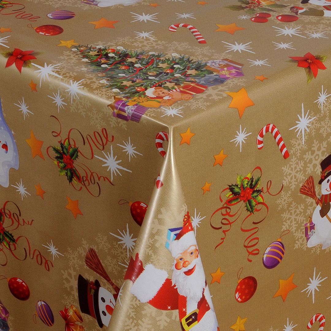 wachstuch tischdecke meterware weihnachten merry christmas 01188 01 eckig rund oval. Black Bedroom Furniture Sets. Home Design Ideas