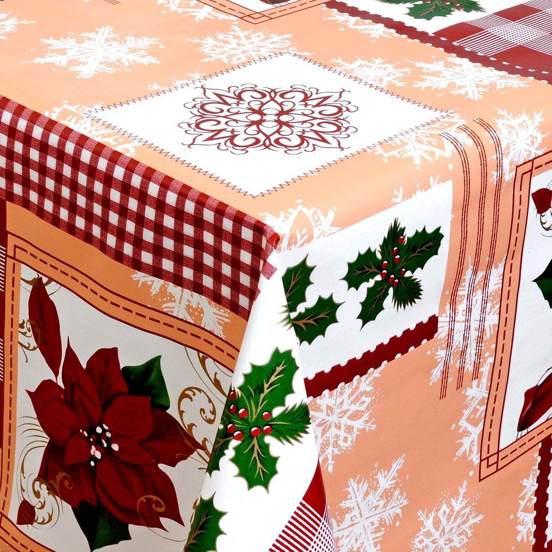 wachstuch tischdecke meterware weihnachten bunt modern 01269 00 eckig rund oval. Black Bedroom Furniture Sets. Home Design Ideas