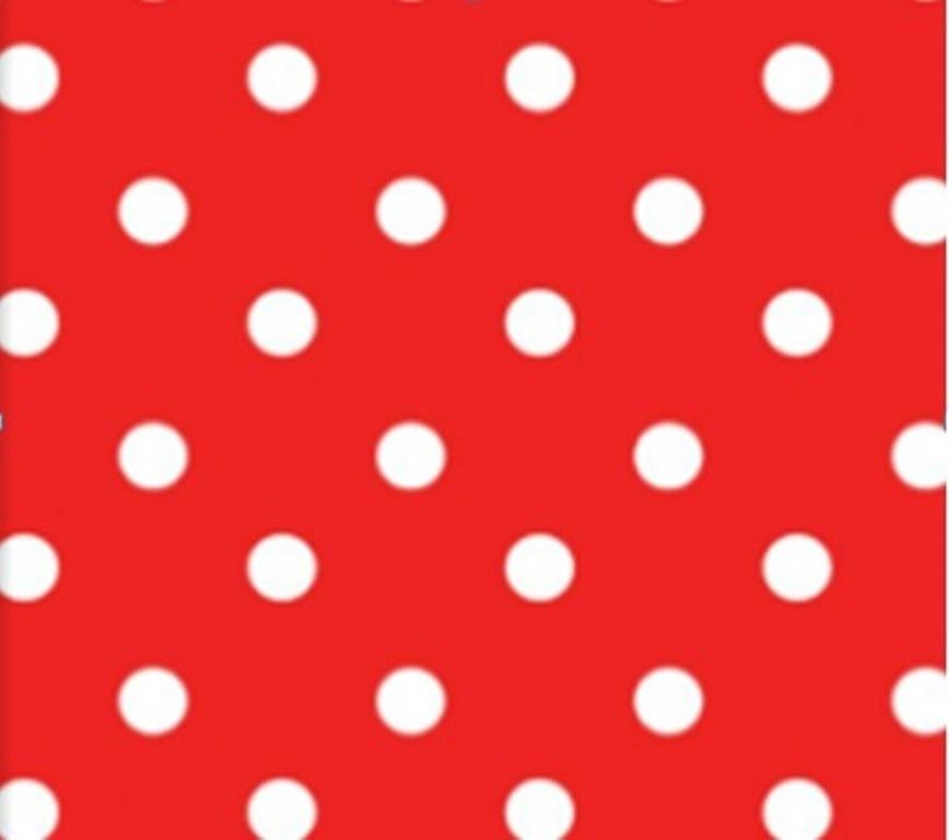 wachstuch tischdecke meterware modern punkte rot polka dots red bb52 eckig rund oval. Black Bedroom Furniture Sets. Home Design Ideas