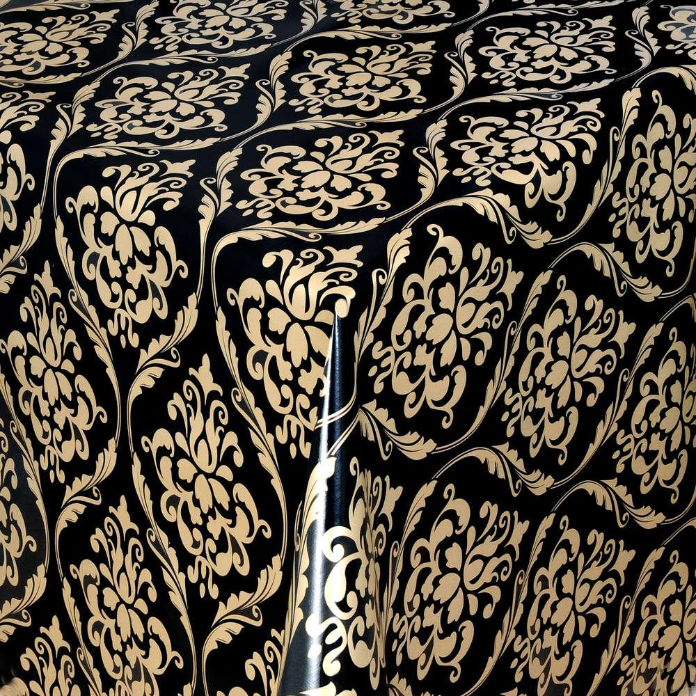 Wachstuch Tischdecke eckig rund oval abwaschbar Steine K-150196
