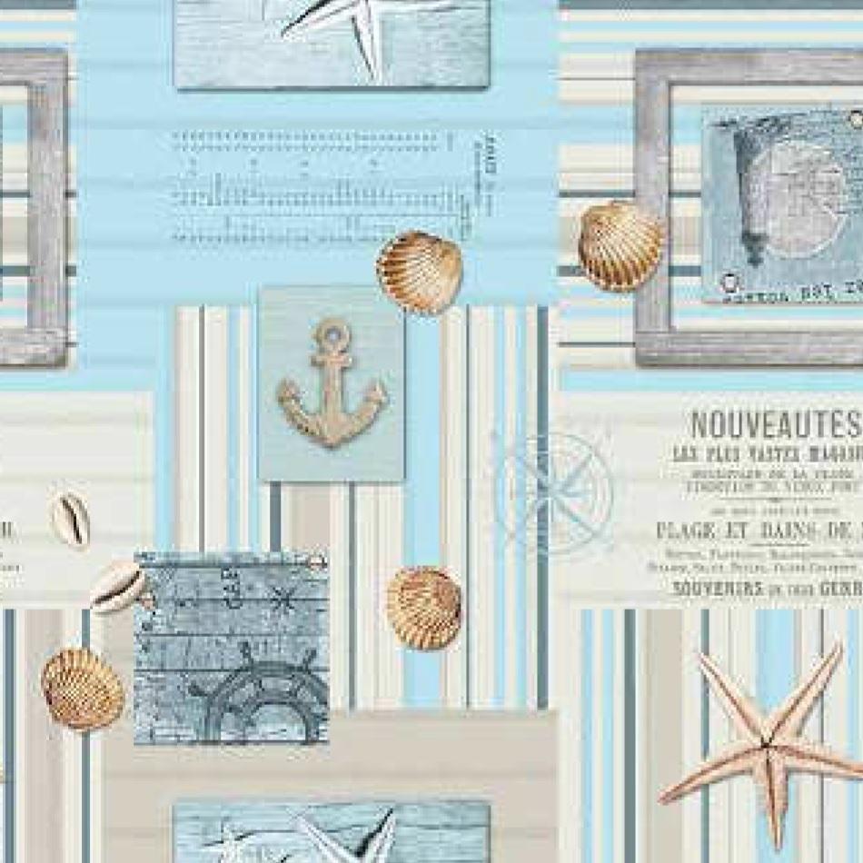 wachstuch tischdecke meterware maritim c144131 eckig rund oval. Black Bedroom Furniture Sets. Home Design Ideas