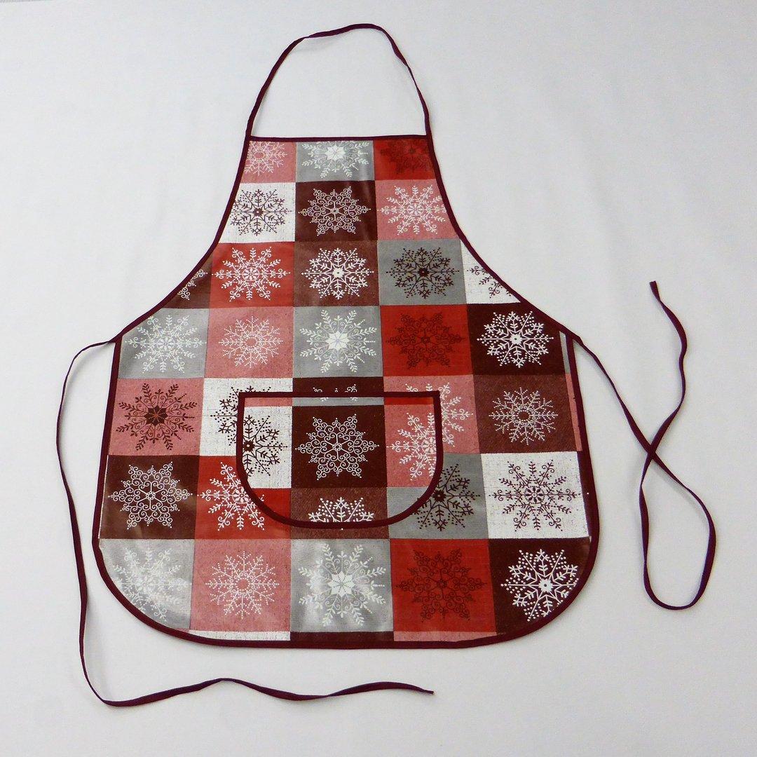 Wachstuch Schurze Abwaschbar 01355 03 Weihnachten Werkenschurze Kuchenschurze Kevkus Onlineshop Fur Wachstuch Tischdecke Meterware Rollenware