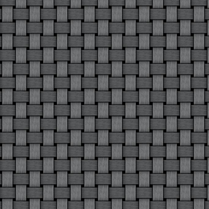 Wachstuch Tischdecke Meterware geflechtet grau geprägt P1088-6 eckig rund oval