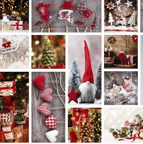 Wachstuch Tischdecke Weihnachten Herz Schneeflocke Kugel C141251 eckig rund oval